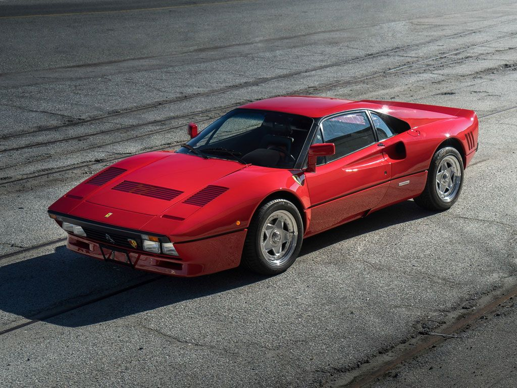 The first ferrari 288 gto officially delivered to japan bought new by yoshiho matsuda
