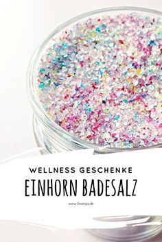 Photo of Vollmond Einhorn Badesalz – Magisches DIY Einhorn Badesalz – I LOVE SPA