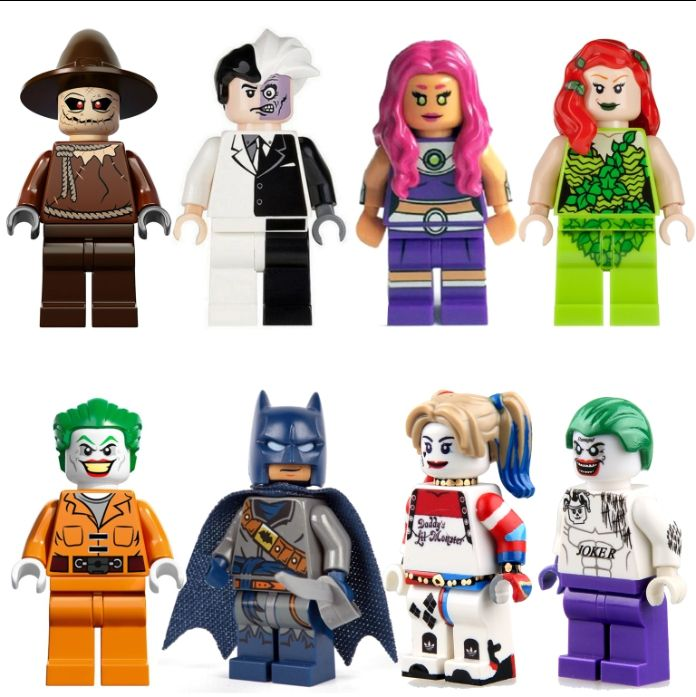 Like and Share if you want this PG8013 Suicide Squad Joker Harley quinn Two Face Scarecrow Starfire DC Batman lepin Minifigures 8pcs/lot Block Children Toys Tag a friend who would love this! FREE Shipping Worldwide Buy one here---> http://www.worldofharley.com/pg8013-suicide-squad-joker-harley-quinn-two-face-scarecrow-starfire-dc-batman-lepin-minifigures-8pcslot-block-children-toys/