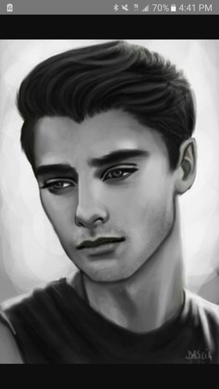 Hot Guy Drawing
