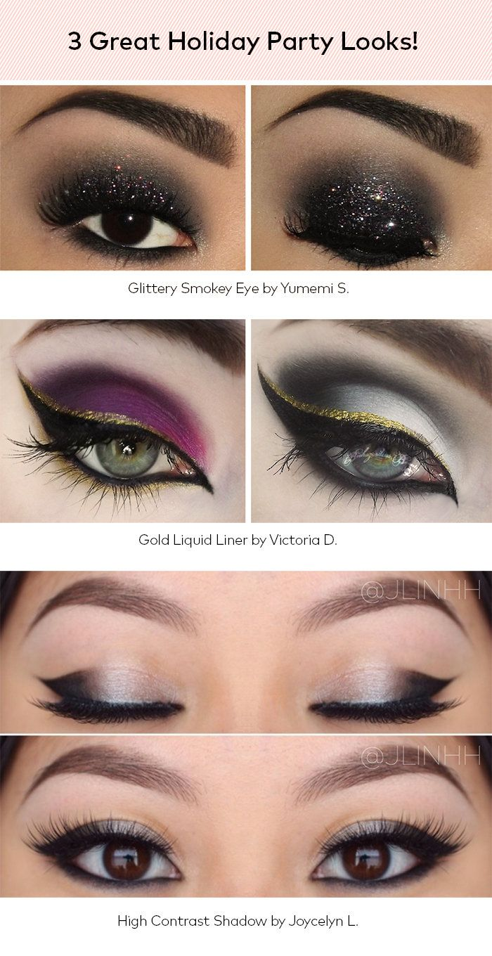 Get Your Party On: 3 Easy Eye Looks for Holiday | Beautylish