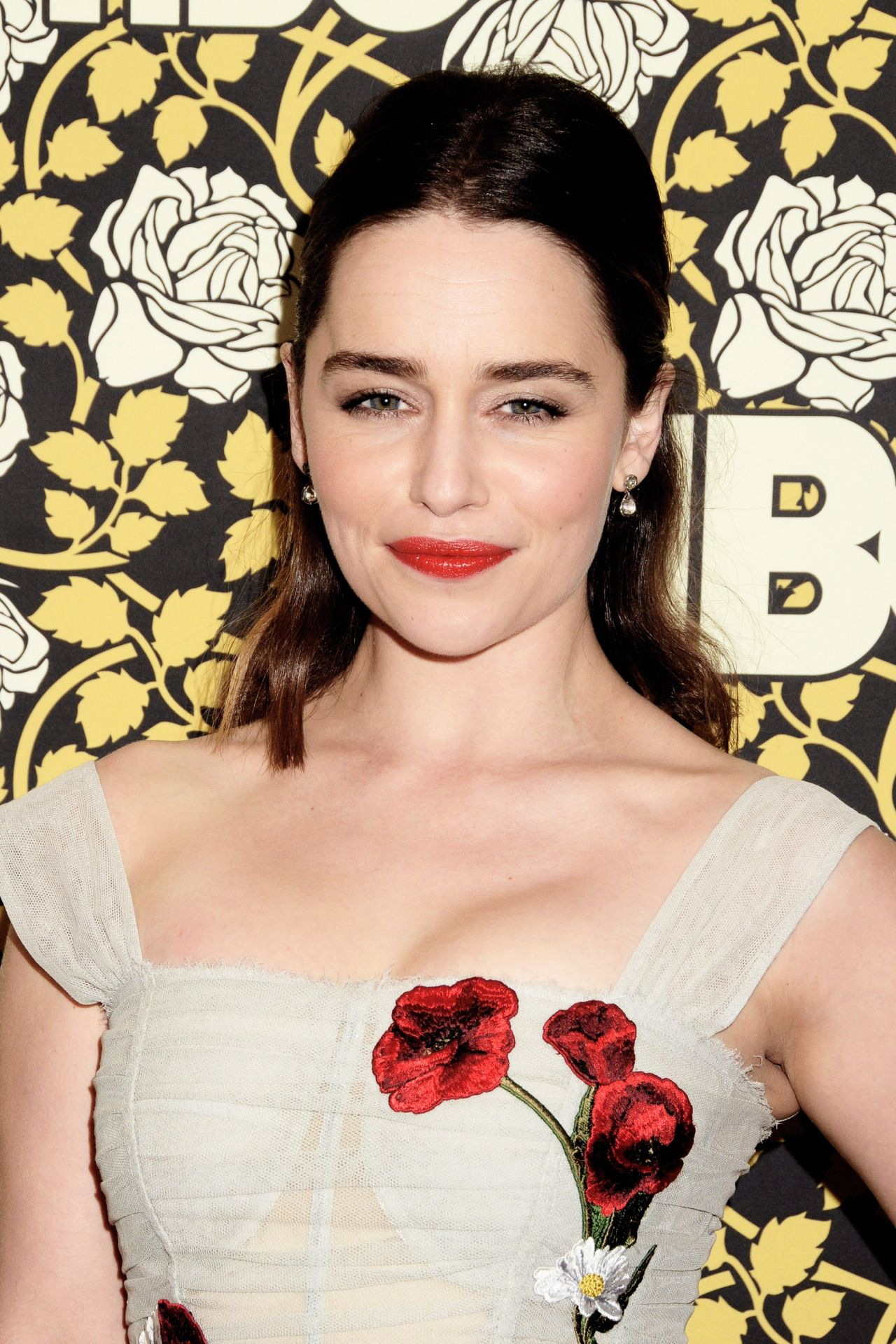 Emilia Clarke attending the Golden Globe after party