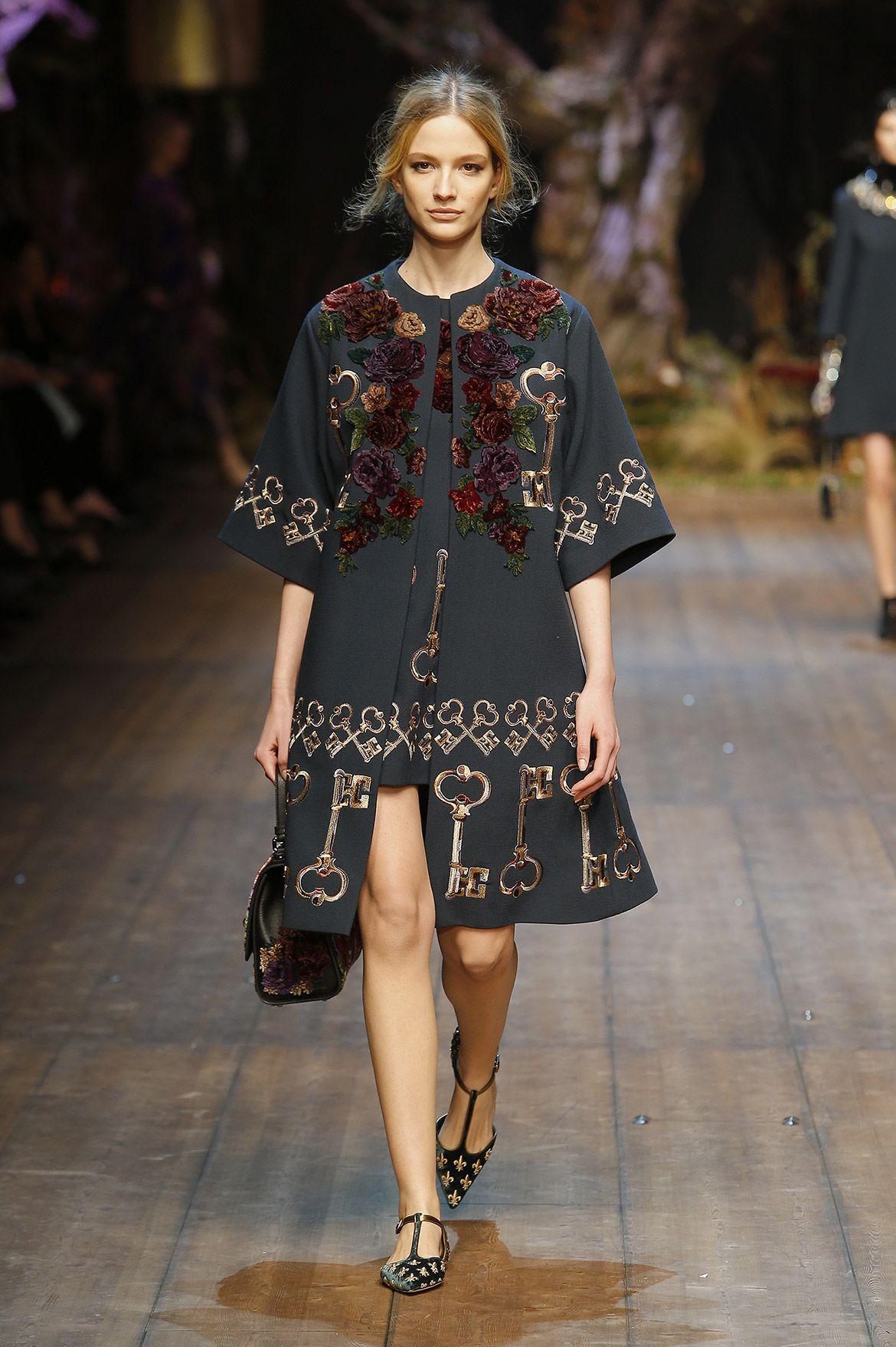 Dolce   Gabbana – Gallery Sfilata Donna - Autunno Inverno 2014 2015  Settimana Della Moda Di 889f2855105