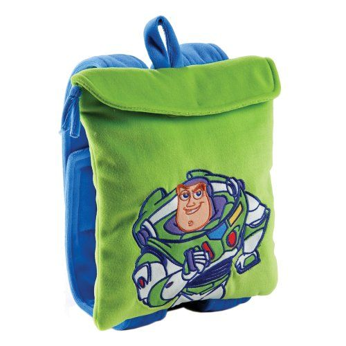 7cf79e32531 Disney Toy Story Toddler Backpack with Blanket with Buzz Lightyear as the  featured character.