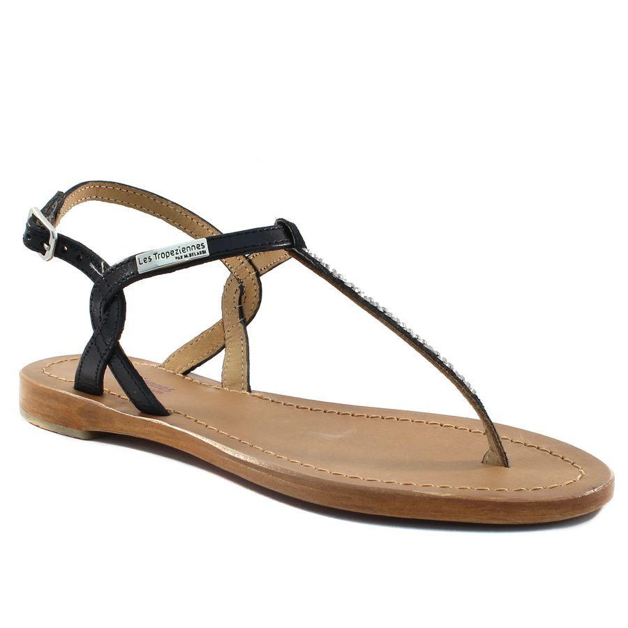 163ff09c7479 869A LES TROPEZIENNES HOURRA NOIR www.ouistiti.shoes le spécialiste internet   chaussures