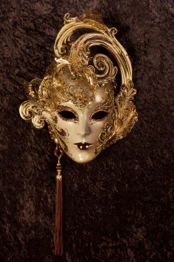 Desio Maschera Veneziana Originale Artigianale Fatta A Venezia!