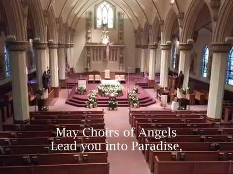 1 Celtic Song Of Farewell Sung By Maryanne Polich Soprano With Lyrics Youtube Sopranos Songs Catholic Funeral