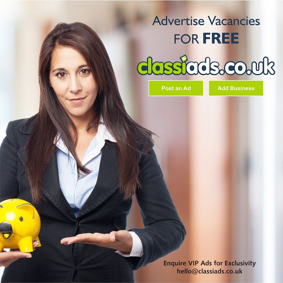 Advertise Job Vacancies for free on Classiads.co.uk