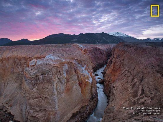 Vale das Dez Mil Chaminés - Alaska, EUA