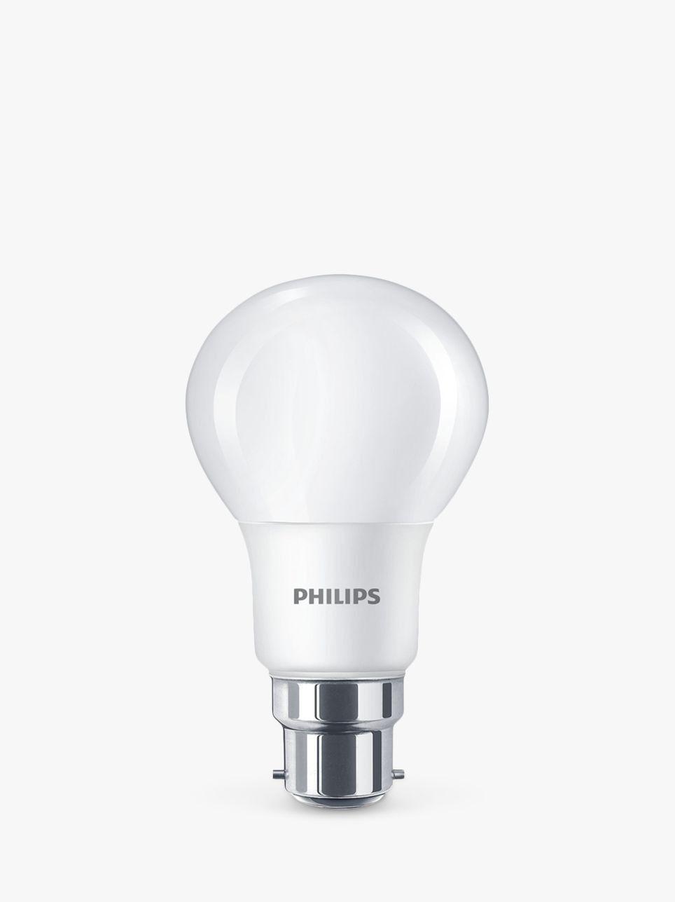 Philips 8w Bc Classic Led Warm White Light Bulb Pack Of 6 White Light Bulbs Light Bulb White Light