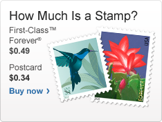 How Much Is A Stamp First Class Forever 0 49 Postcard