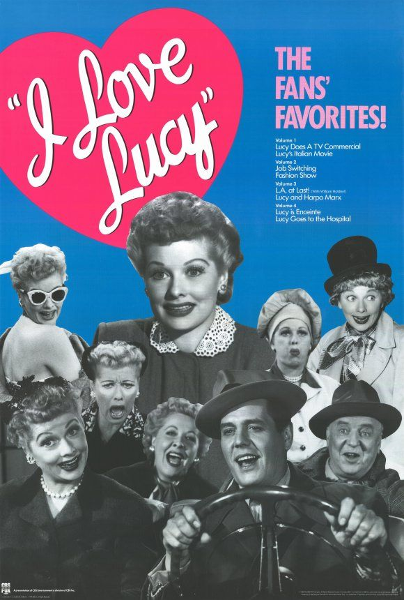 CANVAS The I Love Lucy Show Art print POSTER