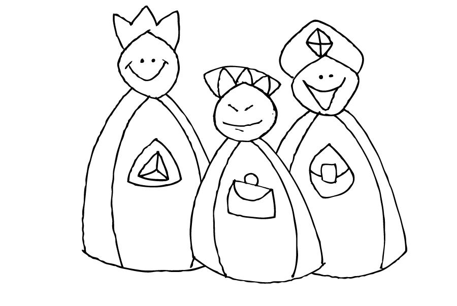 Personajes del #Nacimiento. #Navidad. www.evangelizacioncatolica.org