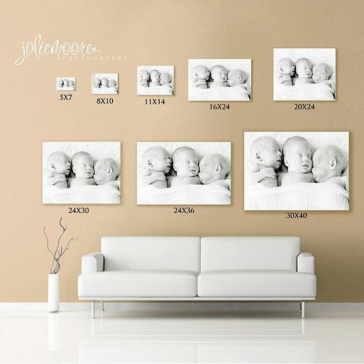 Picture Sizes Canvas Display Photography Wall Art Photo Wall Decor
