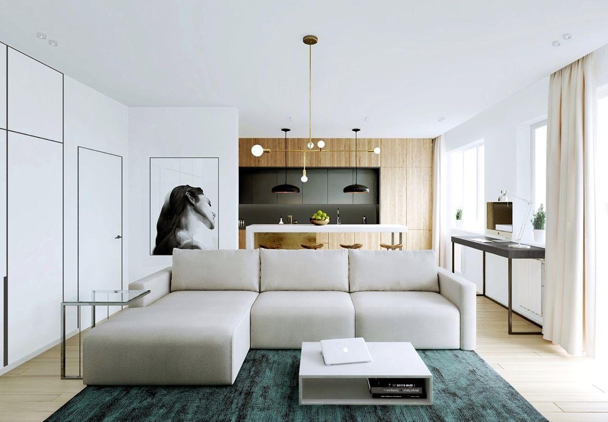 15 Top Modern House Interior Designs for 2018  Poutedcom   Modern apartment decor Modern