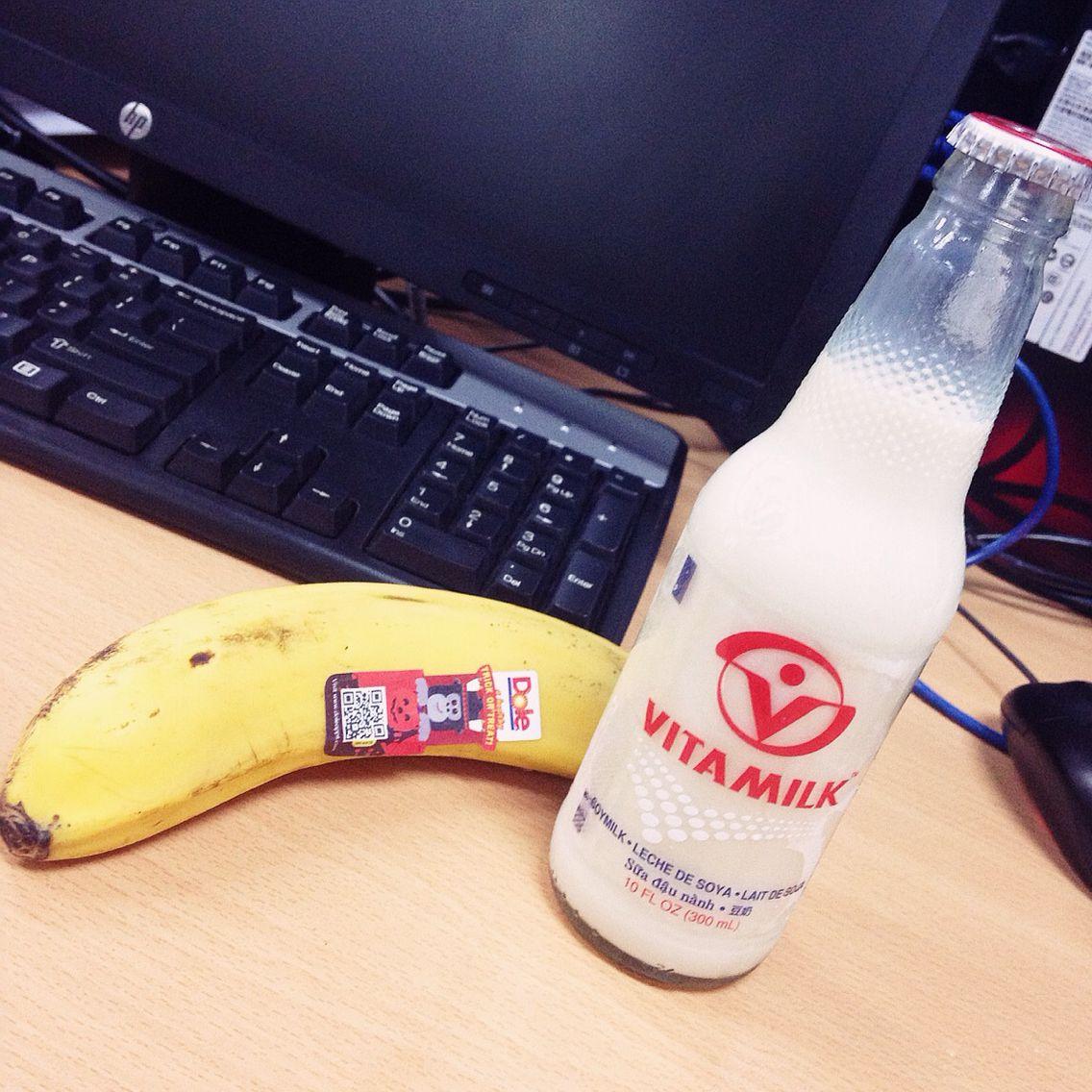 #banana #vitamilk #seradiet