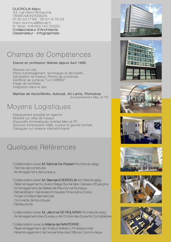 Plaquette Jpg 600 849 Plan D Amenagement Infographiste Permis De Construire