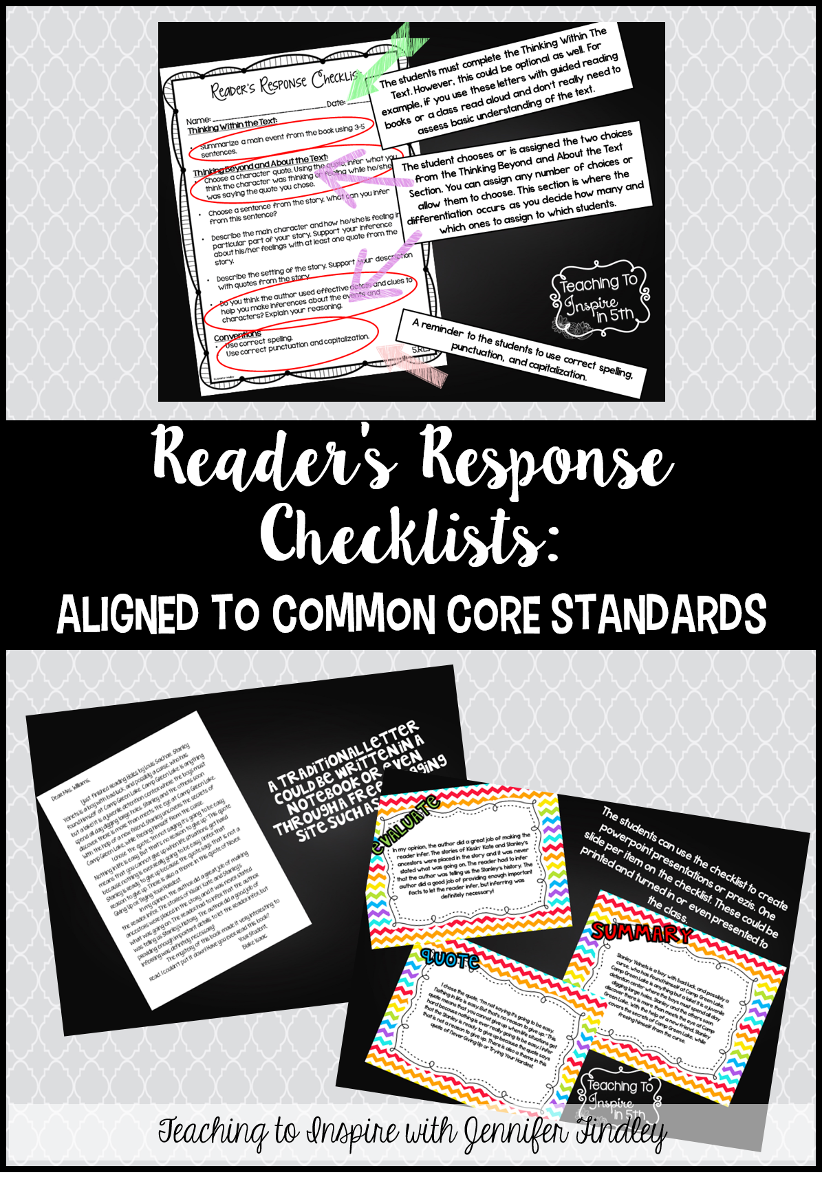 Reader S Response Letters Rigorous Ccss Aligned