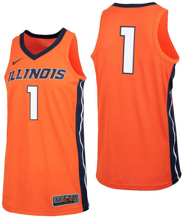 8c9b10fe9cf Nike Men's Illinois Fighting Illini Replica Basketball Jersey ...