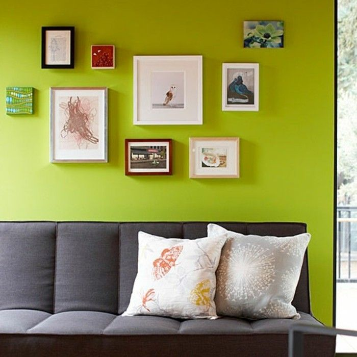 100 Interieur Ideen mit grellen Wandfarben! Wohnideen Pinterest