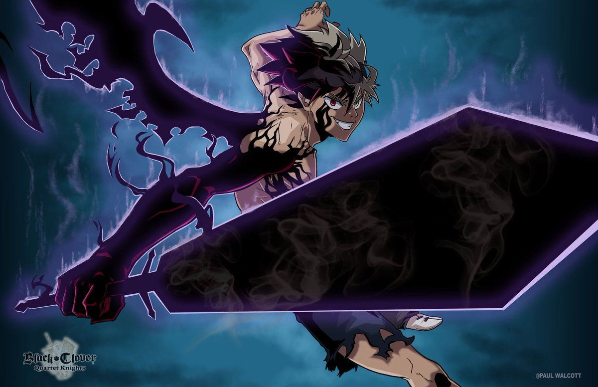 Black Clover Asta Demon Form Wallpaper Hd Blackcloverfanart Hashtag On Twitter Asta Black Clover In 2020 Black Clover Anime Black Clover Manga Black Anime Characters