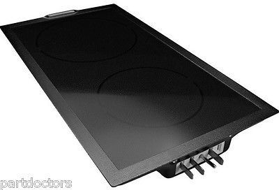 NEW Jenn-Air Designer Line Electric Radiant Glass Cooktop Cartridge Black A122B