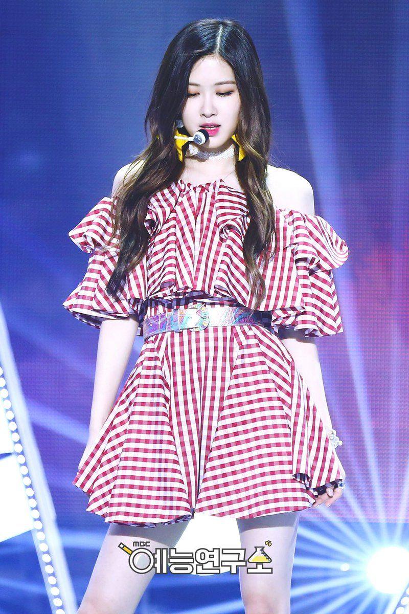 Rose Sbs Inkigayo 07092017 Aiiyl Stage Rose Blackpink