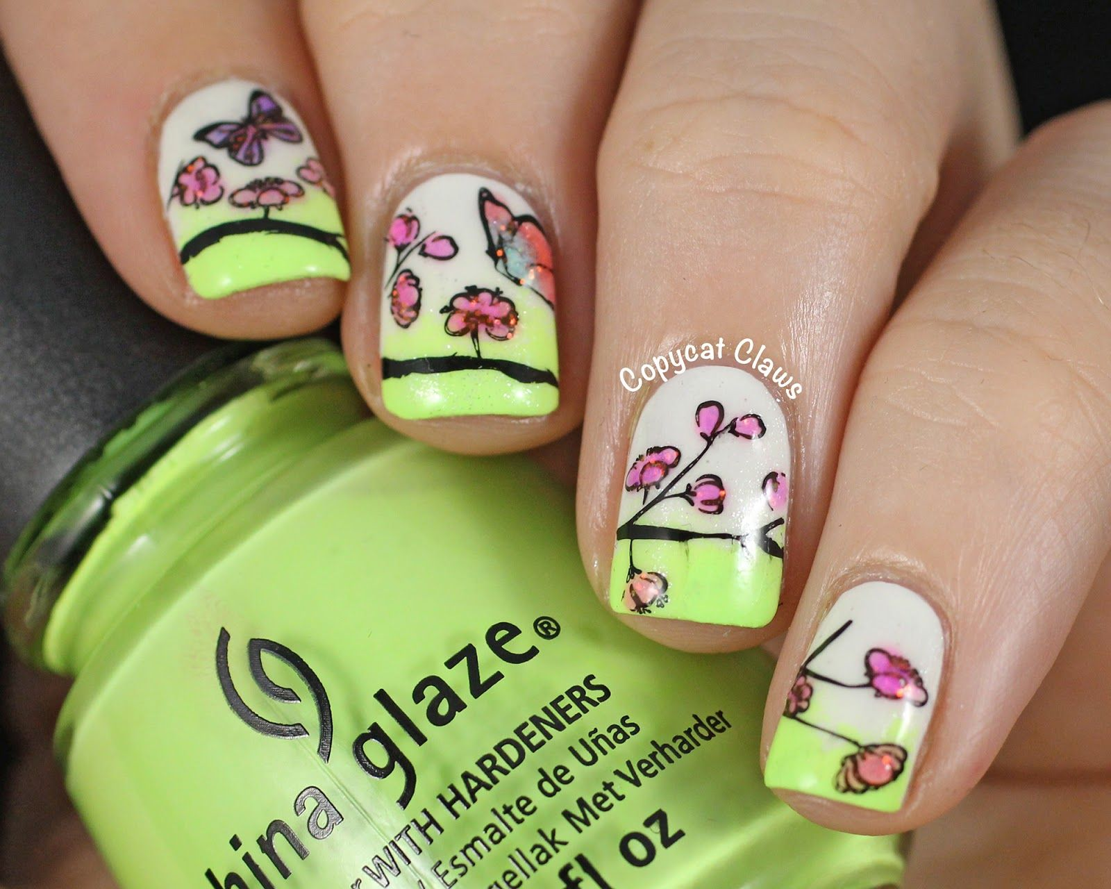 Copycat Claws: Sunday Stamping - Spring Nails | Manis: stamp | Pinterest