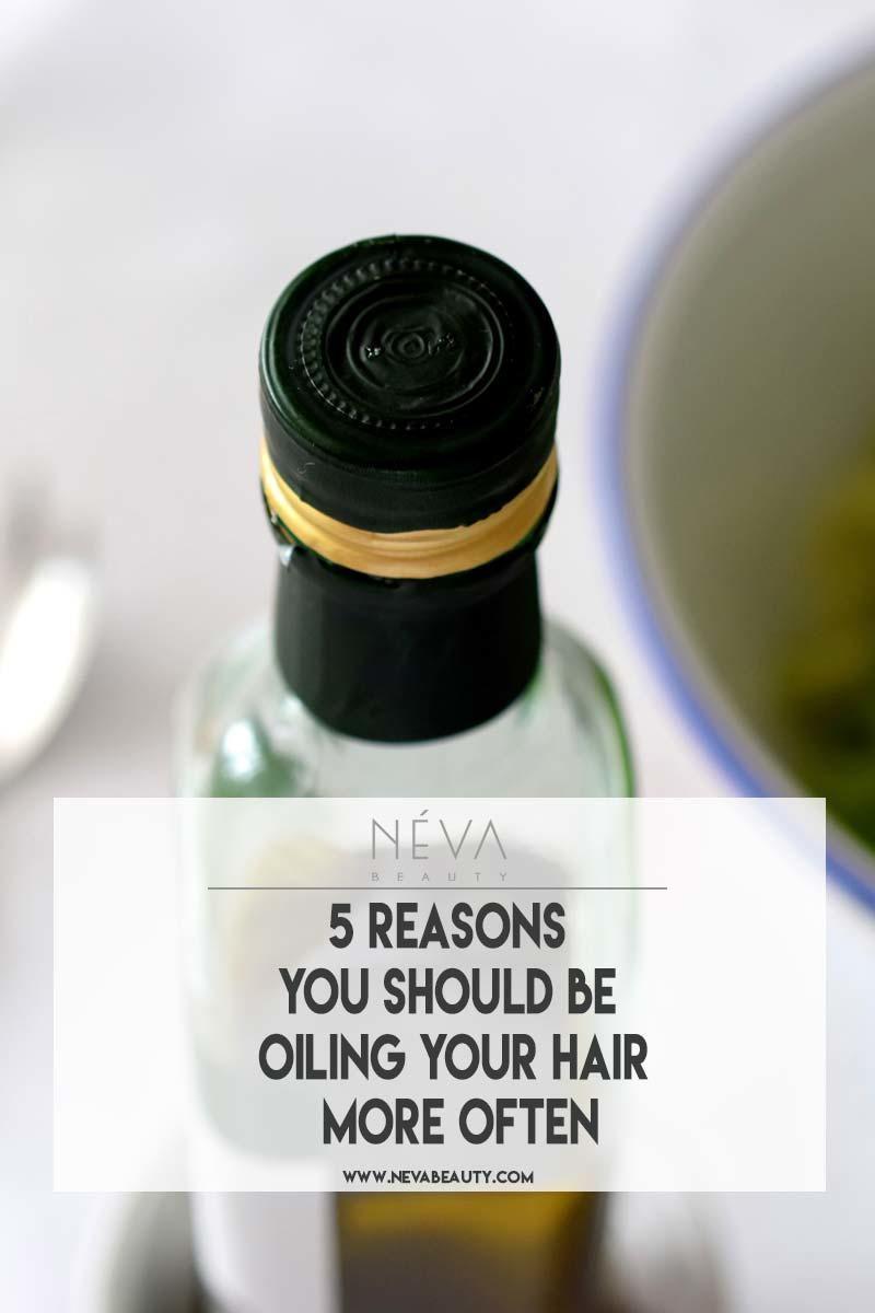 Applying oil may seem counterintuitive in avoiding limp oily hair