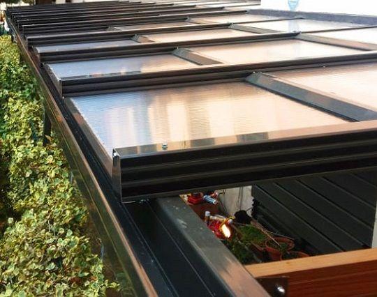 Fabricante de techos de aluminio desmontables terraza for Techos moviles para terrazas precios