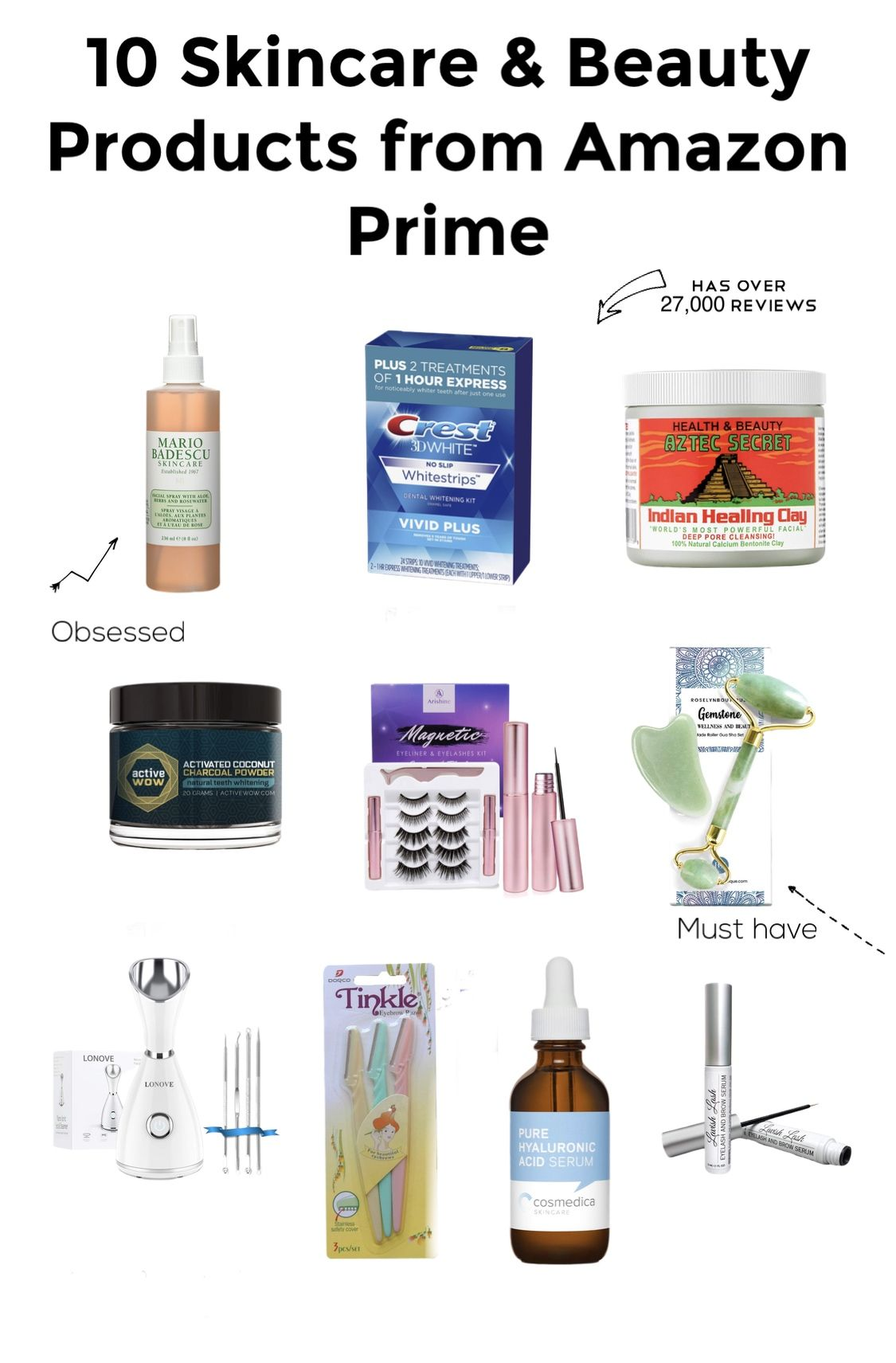 10 Beauty and Skincare Products From Amazon Prime! in 2020