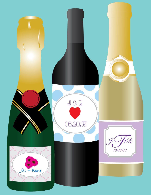 DIY Wine Bottle Labels Diy wine bottle labels, Wine