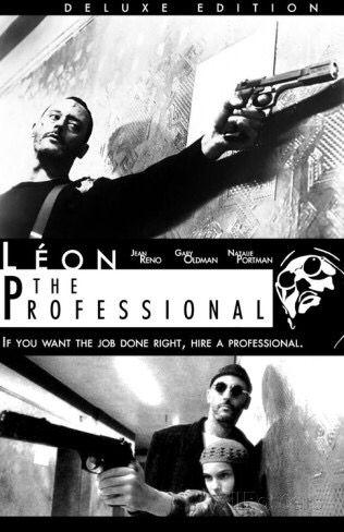Natalie Portman And Jean Reno In Luc Besson S Leon The Professional The Professional Leon Filme
