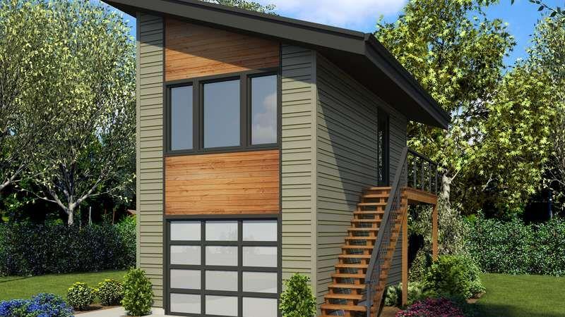 4 Car Garage Apartment Plans