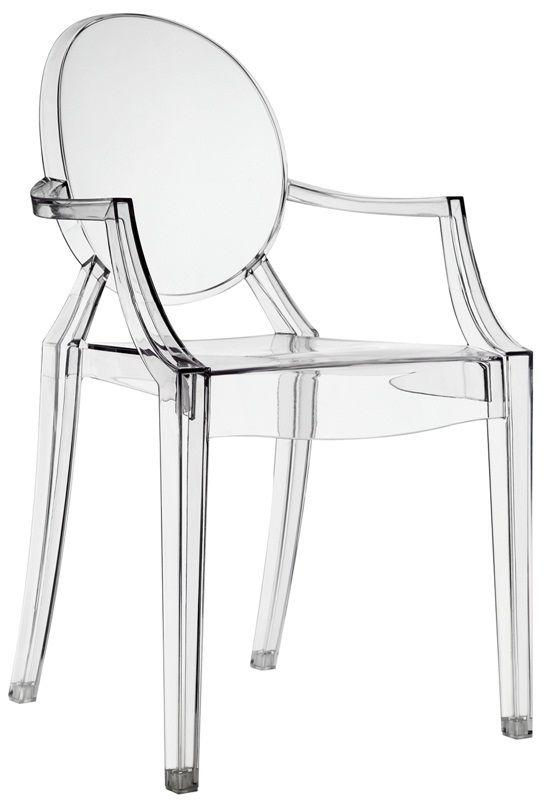 Modway Casper Dining Armchair In Clear EEI 121 CLR