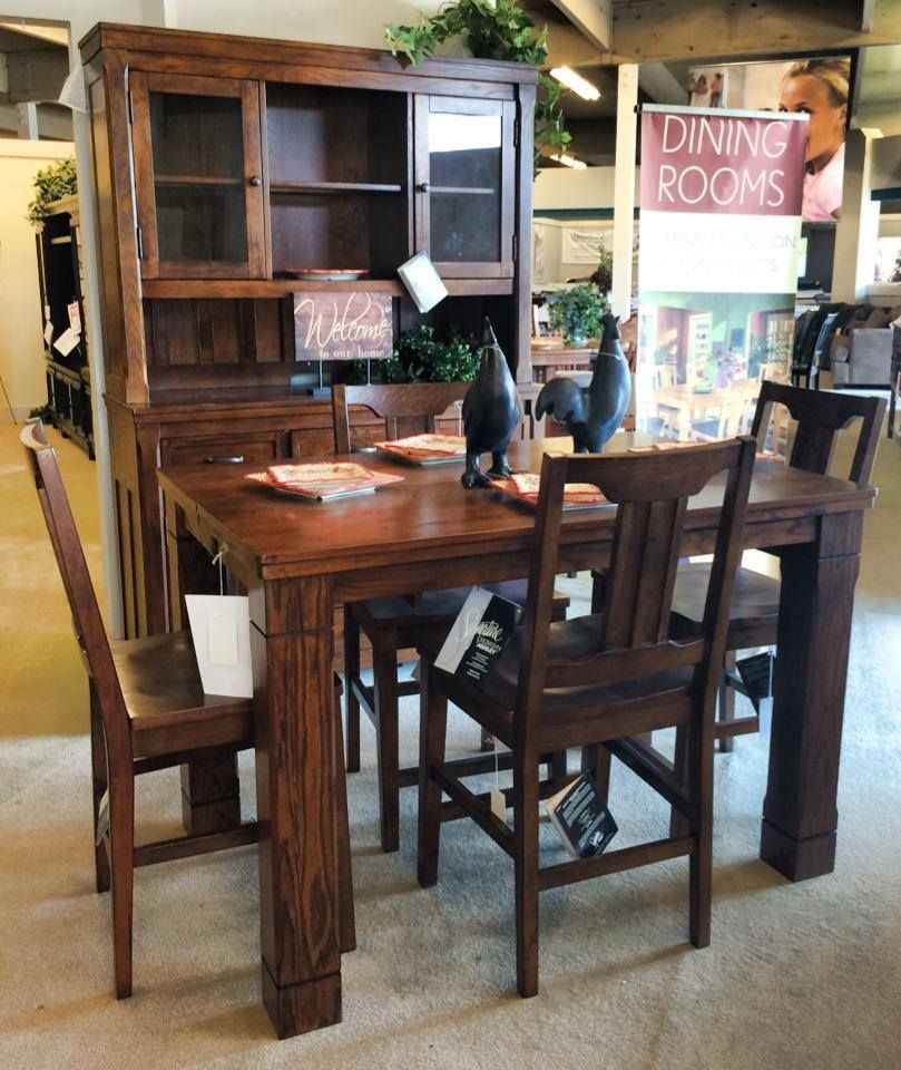 Looking For A Square Counter Height Dining Set? This One