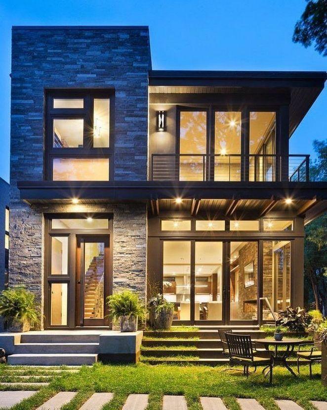 Modern Organic Home By John Kraemer Sons In Minneapolis Usa: 40+ Ideas To Dream House Exteriors Modern - Lowesbyte