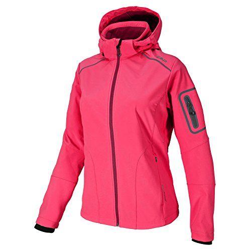 Softshell Outdoor Jacke CMP für Damen mit Fleece