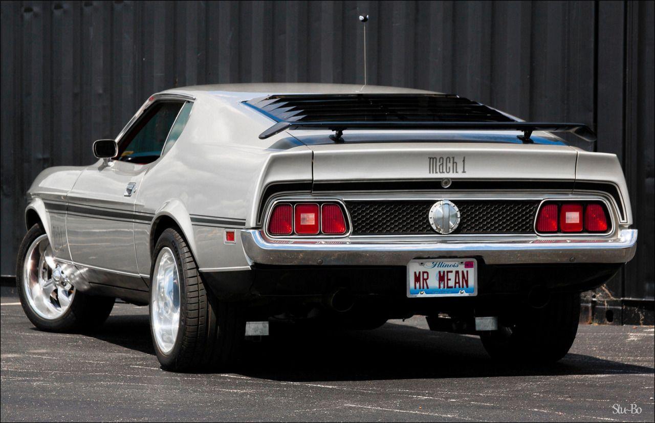 Car Pornography Starring Ford Mustang Mach 1 By Stuart Stu Bo 1964