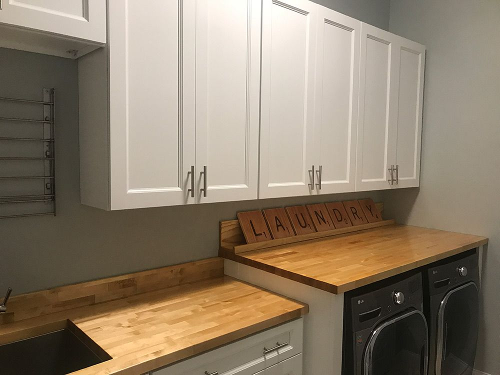 Kitchen Cabinet Kings THOMPSON WHITE cabinets | Material ...