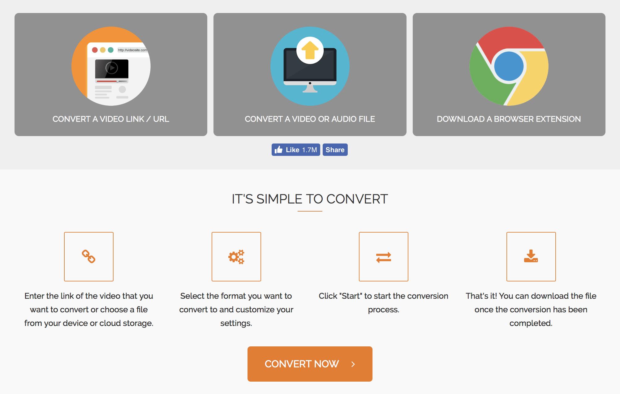 OnlineVideoConverter com (OVC) is a free online media