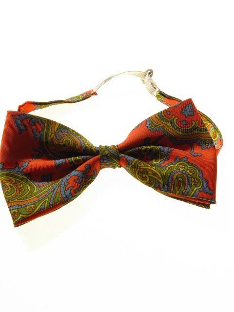 Vintage bow tie paisley 1960s / 1970's | 1960s, Tweed jackets and Formal  wear