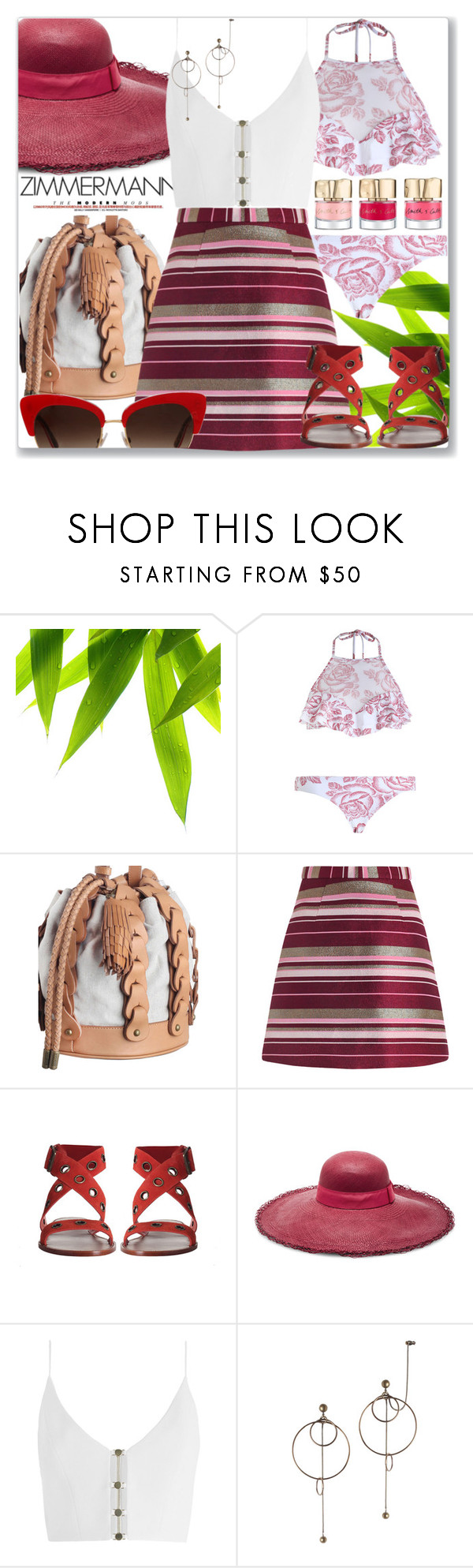 """""""At brunch"""" by jan31 ❤ liked on Polyvore featuring Zimmermann, Sensi Studio and Dolce&Gabbana"""