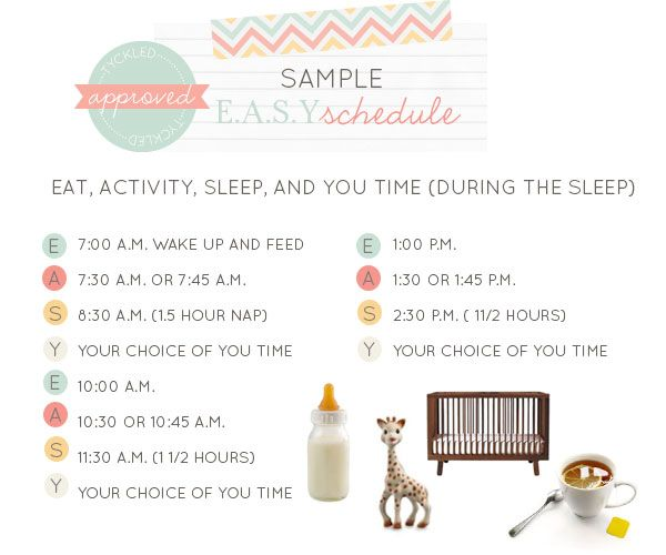 Sample Easy Baby Whisperer Schedule And Real Thoughts The Changes
