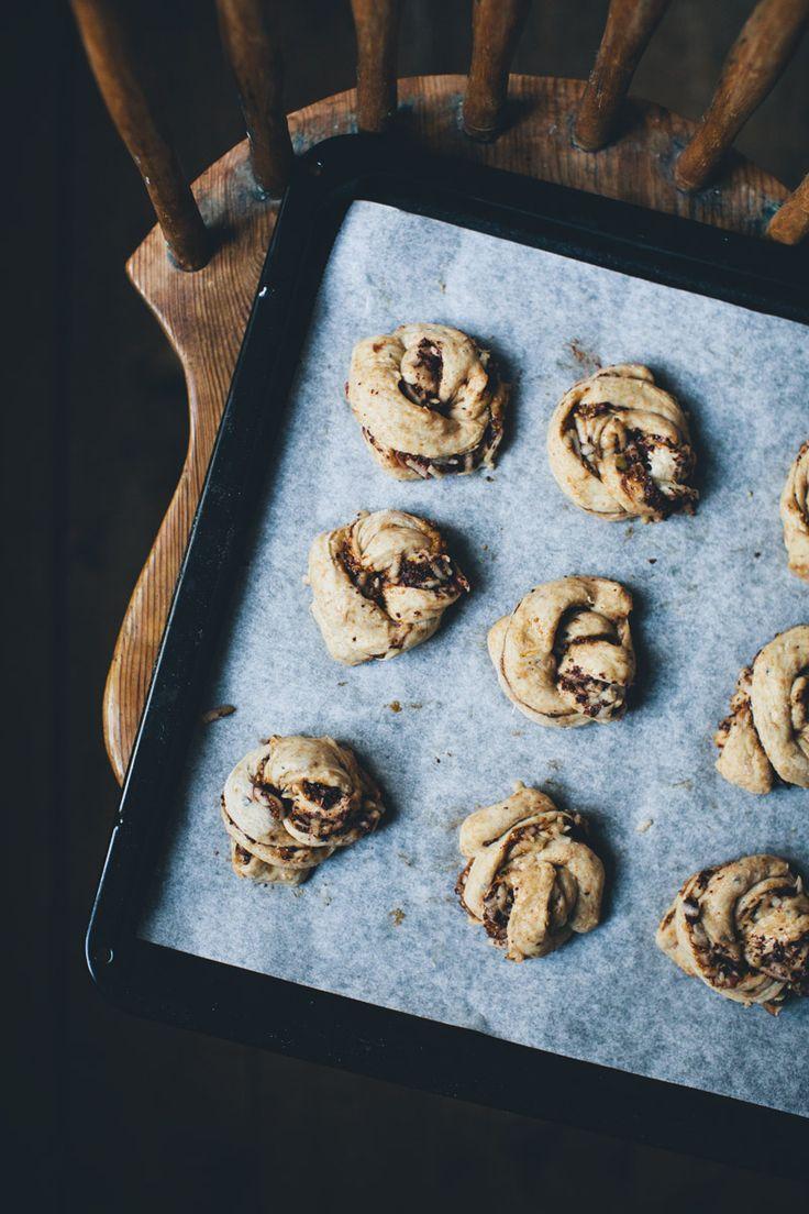 Hazelnut, Apple & Chocolate Buns | GKS | Bread Recipes | Pinterest ...