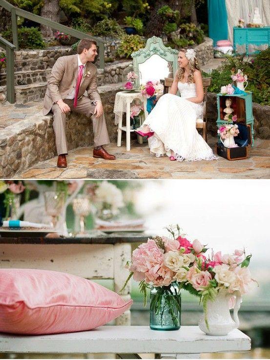 English Garden Themed Wedding Perfect Carousel Wedding