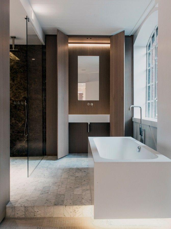 Bathroom By Johnson Naylor Apartment In Soho London Guest Bathroom Remodel Contemporary Bathrooms Luxury Bathroom