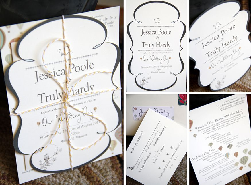 Paper One of the Most Important Elements in Your Wedding | Vermont ...