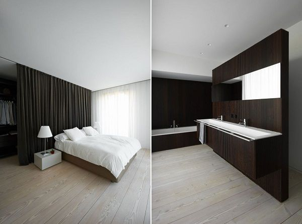 Casa A 48 House A Draped Minimalism From Spanish Architects Vaillo Fascinating Bedroom In Spanish Minimalist Collection