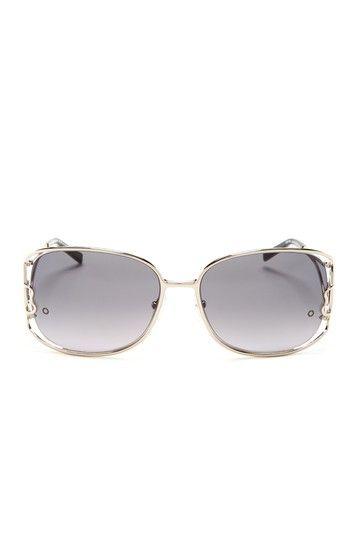Aviator-Style Metal Sunglasses Balenciaga 14XkDD
